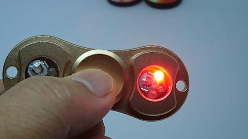 DSC 3445 thumb%255B2%255D - 【リキッド/スピナー】LIQUA Mix「VANILLA ORANGE CREAM」「STRAWBERRY YOGURT」と光らない光る「LEDハンドフィジェットスピナー」レビュー!【フィジェット/VAPE/電子タバコ】