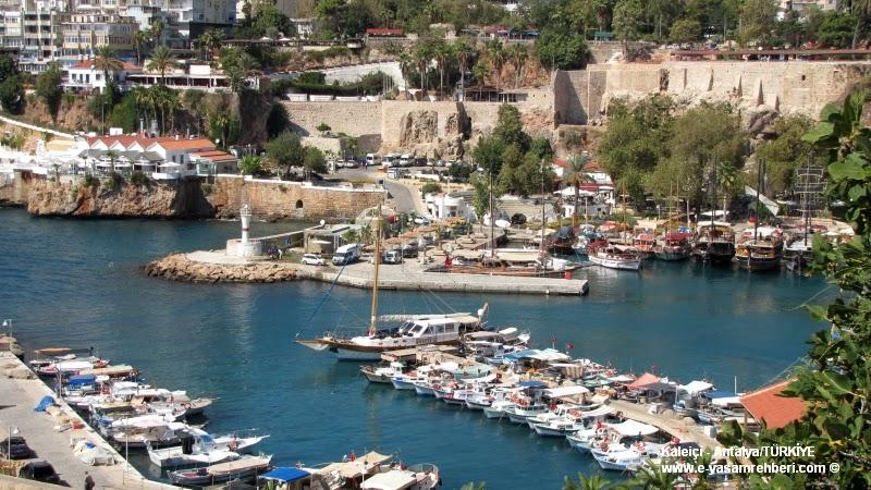 Antalya Kaleiçi ve Tarihi Yat Limanı
