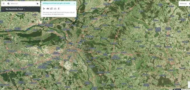 خرائط جوجل بدائل من هنا