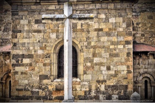 Cruz de la Aparición de la Virgen del Mercado. León. Foto G. Márquez.