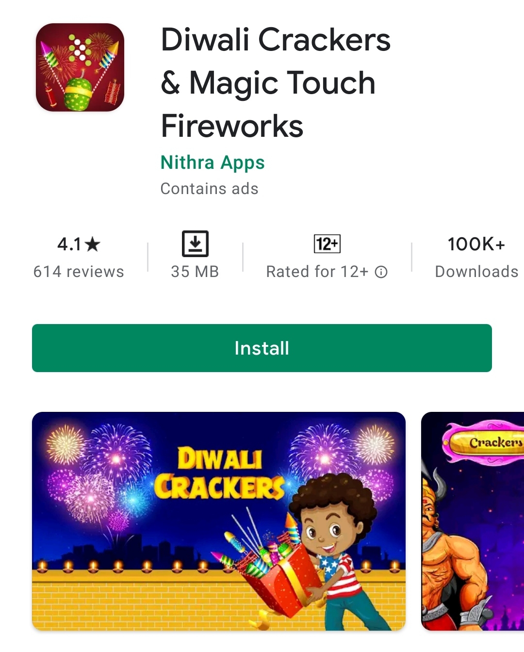 Diwali Crackers Application 2020 Download For Kids !! Cutresults