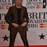 OIC - ENTSIMAGES.COM - Nick Grimshaw at the  The BRIT Awards 2016 (BRITs) in London 24th February 2016.  Raymond Weil's  Official Watch and  Timing Partner for the BRIT Awards. Photo Mobis Photos/OIC 0203 174 1069