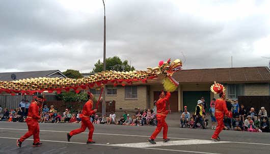 Christmas Parade Christchurch