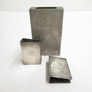 Sterling Silver Matchbox Case Lot of 3