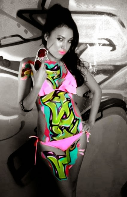 Body Art by Sogr   Graffiti Pictures and Graffiti Videos