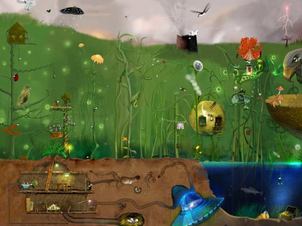Horror Landscape Of Dream 9, Magical Landscapes 5