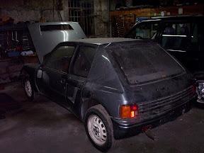 Abandoned Peugeot T16