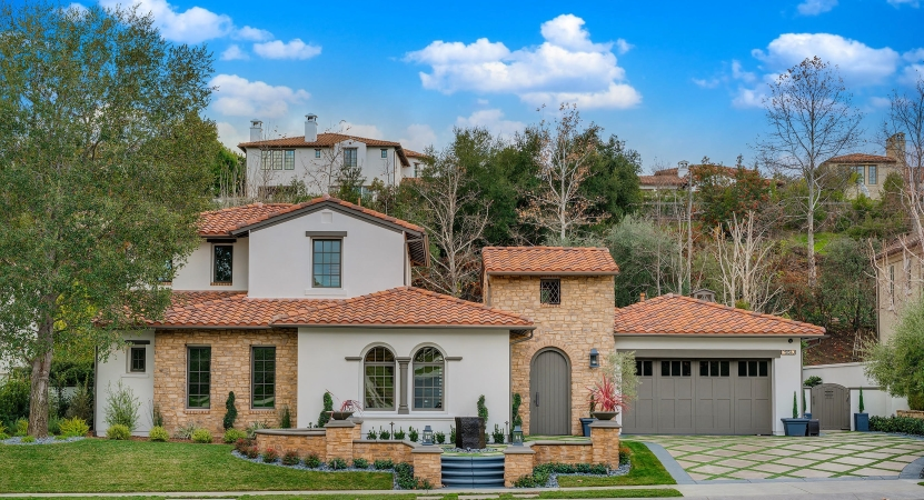 single family home in The Oaks neighborhood in Calabasas