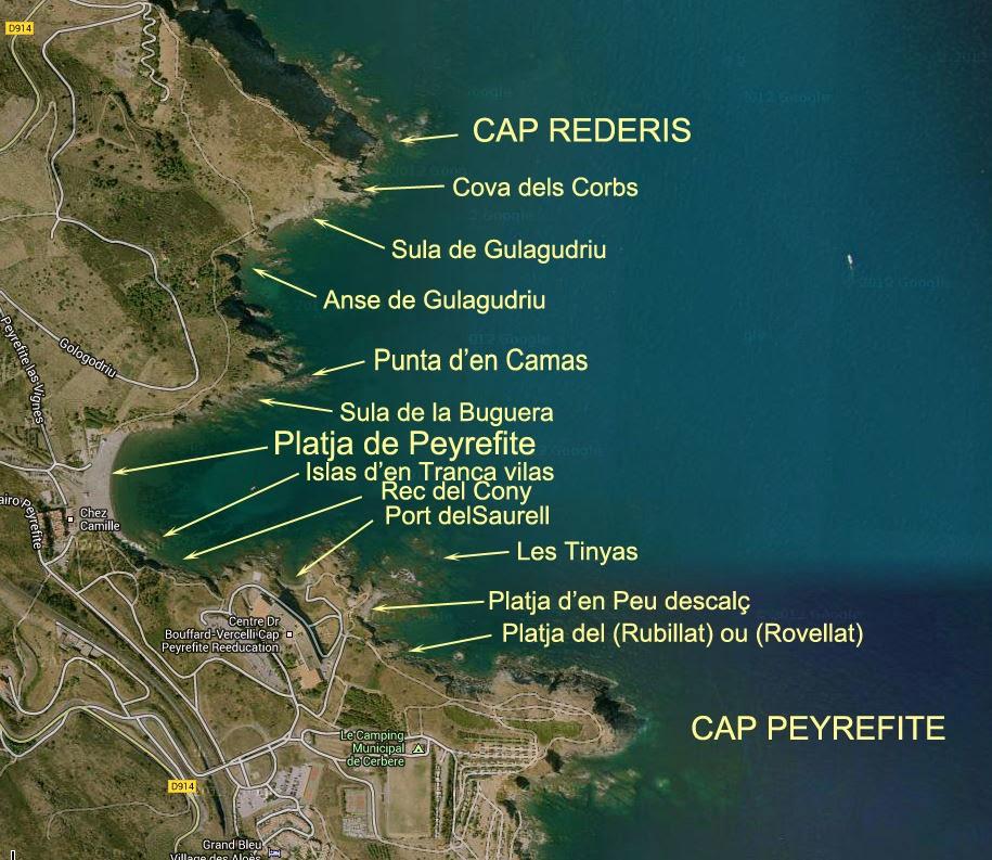 Du Cap Peyrefite Au Cap R 233 D 233 Ris Cote Vermeille