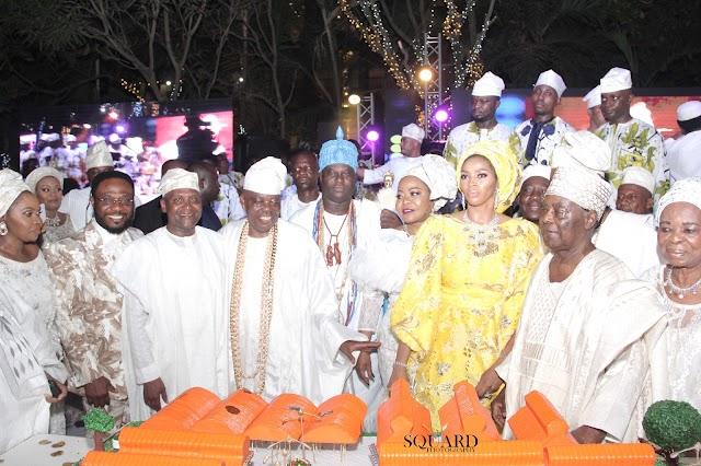 Top  Politicians, Billionaire Businessmen, Boardroom Gurus, Royal Fathers, Nollywood Stars, Media Moguls Grace Aare Rasaq Okoya's 80th Birthday Celebration