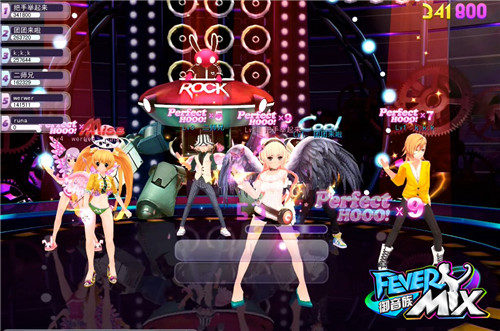 Permainan Dance Online