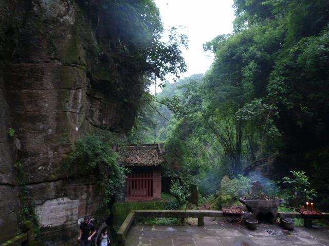 CHINE.SICHUAN.PING LE à 2 heures de Chengdu. Ravissant .Vallée des bambous - P1070630.JPG