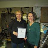 DuAnne Sonneville received a 2015 President's Merit Award, 2.3.2016.