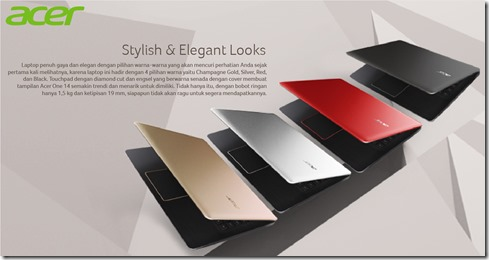 Harga Spesifikasi Acer One 14 L1410