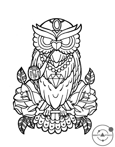 Owl By Sparc On Deviantart