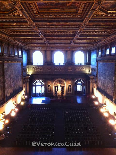 Salon dei Cinquecento, Florencia