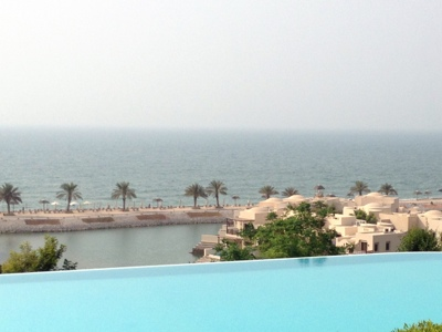 Infinity Pool at The Cove Rotana, Ras Al Kaimah