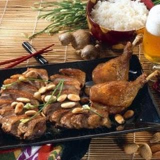 Chinesische Mandel-Ente