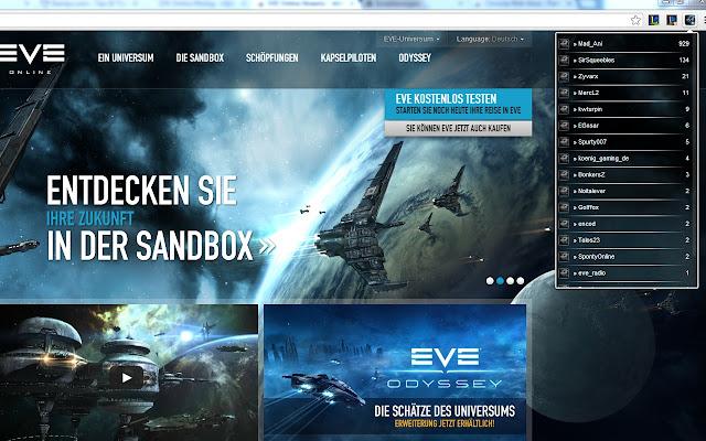 EVE Online Streams