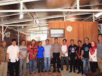 Paur Subag Humas Polres Selayar Ipda Malkadri Ibrahim Coffe Morning Bersama Wartawan