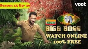 100% Free Watch Online Bigg Boss Season 15 full Episode 20 - Jay Hustles For Money