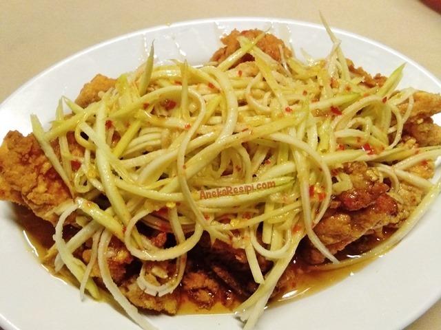 ayam goreng mangga muda