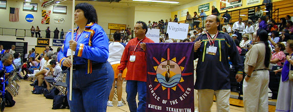 Photo: We enter into the cultures of the people at the Tekakwitha Conferences.