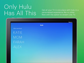 Hulu: Stream TV, Movies & more APK screenshot thumbnail 9