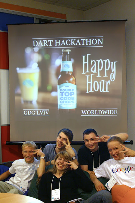 GDG Lviv Team  on Global DART Hackathon