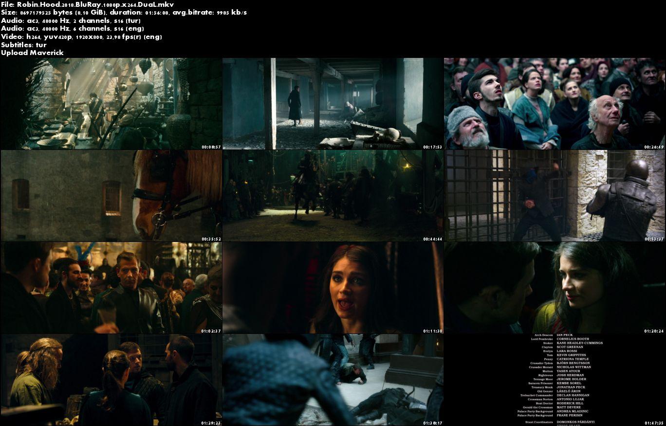 Robin Hood - 2018 BluRay 1080p DuaL MKV indir