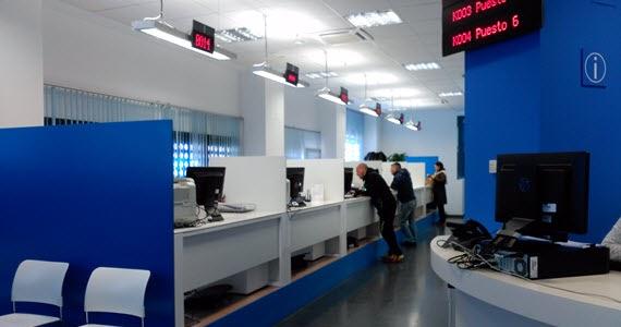 Nueva oficina de atenci n integral al contribuyente en for Oficina de transporte madrid