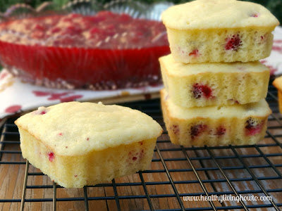 "Cranberry ""Corn Bread"" Muffins"