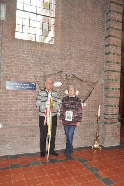 Wandelaars van Camino der Lage Landen in de Martinuskerk - DSC_0057.jpg