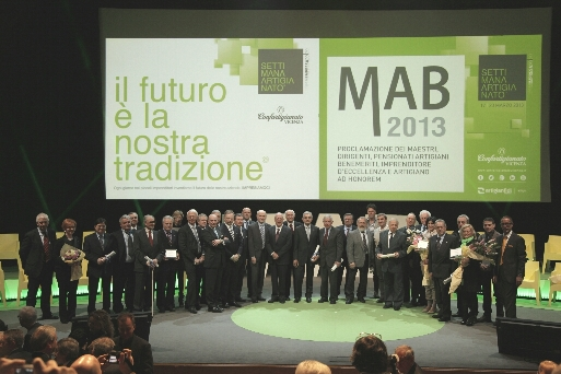 In Fiera a Vicenza la 51ª premiazione dei Maestri Artigiani