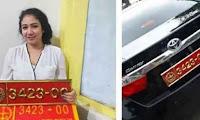 POM TNI Ciduk Perempuan yang Pamer Mobil Dinas Palsu