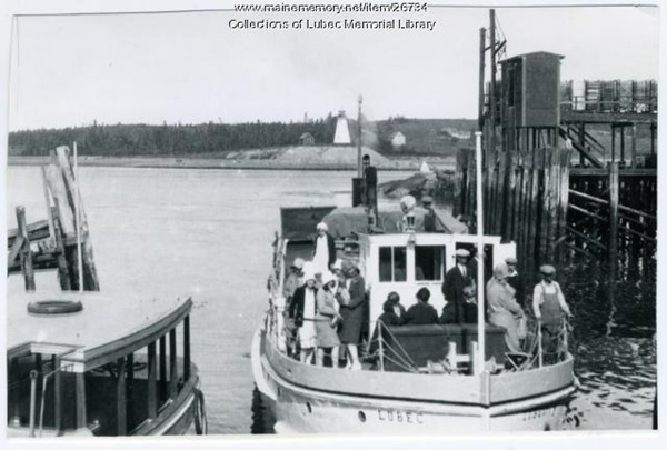 Lubec seaside
