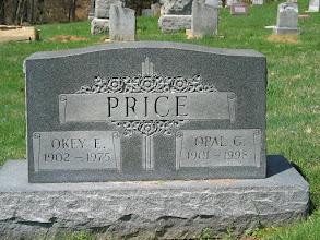 Photo: Price, Okey E. and Opal G.