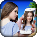 Selfie Camera Photo Frame icon
