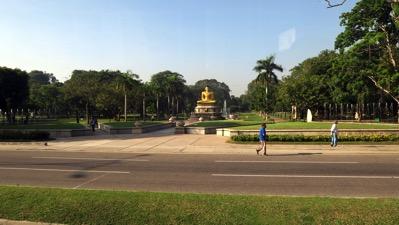 Buddha in Viharamahadevi Park
