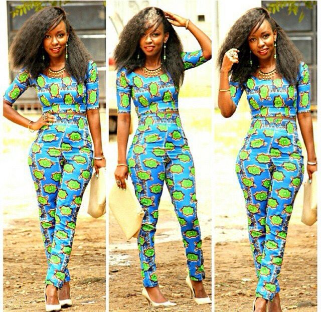 Trendy african women dresses 2015 for Best dress shirts in the world