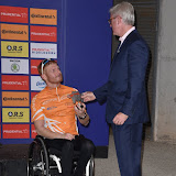 OIC - ENTSIMAGES.COM - Elite Hand Cyclist winner 3rd place Mr Kim Christiansen at the Prudential RideLondon Grand Prix 2016    in London  29th July 2016 Photo Mobis Photos/OIC 0203 174 1069