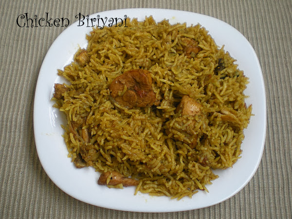 Chicken Biriyani Recipe