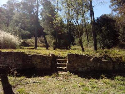 escaleras Fuente de Pozo Cantarero Zuera
