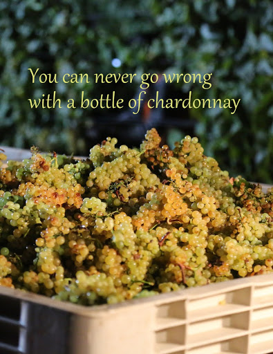 You can never go wrong with a bottle of Chardonnay