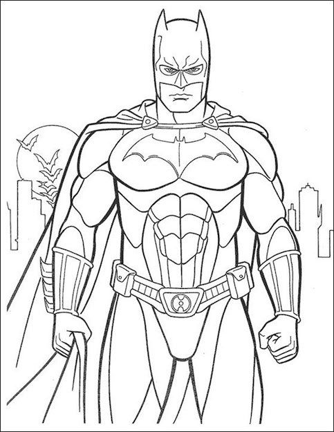 Batman Coloring Book Auromas