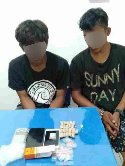 Dua Pemuda Diamankan Satreskoba Polres Pematang Siantar Terkait Dugaan Kepemilikan Sabu