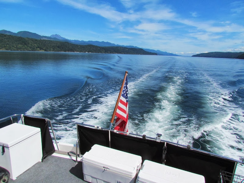 Hood Canal from Dancing Loon