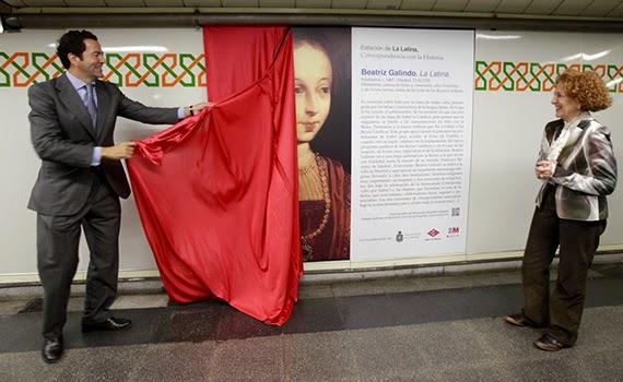 Campaña para dar a conocer el significado de los nombres de las estaciones de Metro