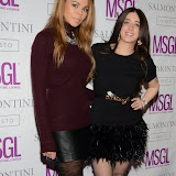 OIC - ENTSIMAGES.COM - Lauren Riley and Ella Jade Bitton MediaSkin Gifting Lounge at Salmontini London 19th January 2015Photo Mobis Photos/OIC 0203 174 1069