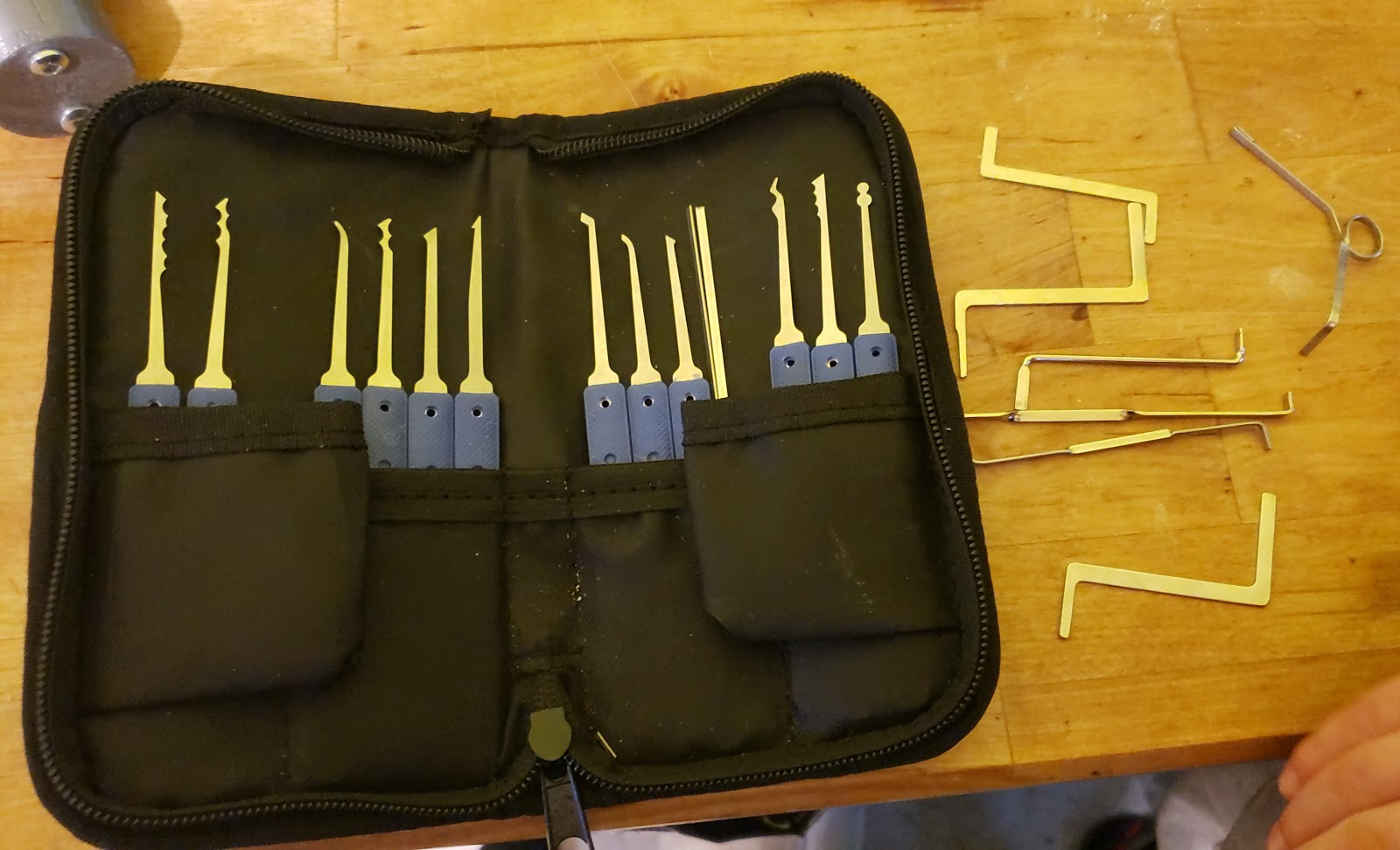 One week of lock picking